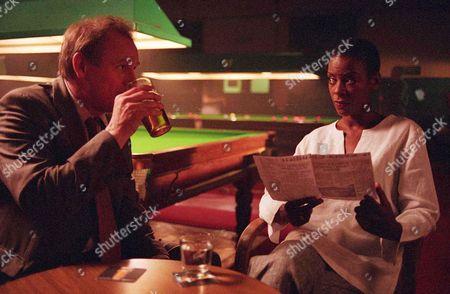 'The Last Detective'   TV Picture Shows: Peter Davison (Dangerous Davies) and Josette Simon (Jemma Duval)