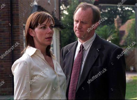 'The Last Detective'   TV Picture Shows: Susan Vidler (Christine) and Peter Davison (Davies)