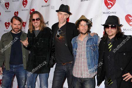 Stock Image of Blind Melon: Glen Graham, Brad Smith, Rogers Stevens, Christopher Thorn and Travis Warren