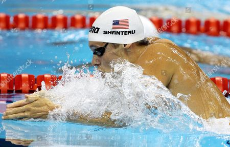Eric Shanteau of United States Competes in the Men's 200m Breaststroke at the 2011 Fina World Swimming Championships in Shanghai China 28 July 2011 China Shanghai