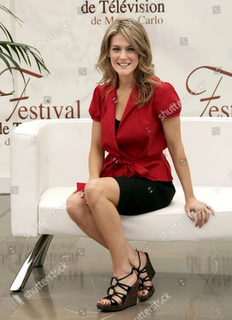 U S Actress Jenni Baird Poses For Photographers During the 47th Monte Carlo Television Festival at the Grimaldi Forum in Monte Carlo Monaco 13 June 2007 the Six-day Event Will Wind Up On 15 June with the Black-tie Golden Nymph Awards Ceremony