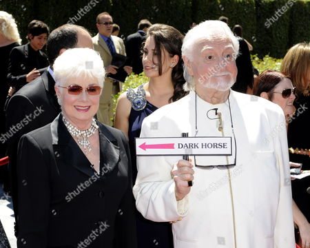 Us Actors Shirley Jones (l) and Marty Ingels (r) Arrive at the 2010 Creative Arts Emmy Awards in Los Angeles California Usa 21 August 2010 the Creative Arts Awards Honor Excellence in Television Technical Categories Such As Makeup Casting Direction Costume Design Editing and Cinematography the 62nd Primetime Emmy Awards Ceremony Will Take Place on 29 August 2010 United States Los Angeles