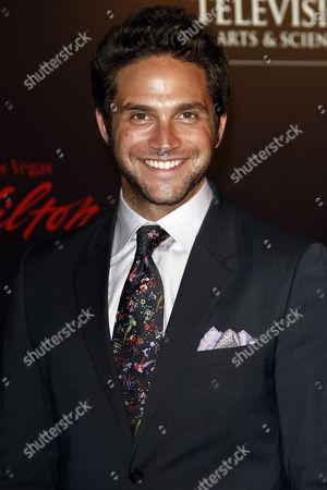 Us Actor Brandon Barash (of Drama Series 'General Hospital') Arrives at the 37th Annual Daytime Entertainment Emmy Awards Held at the Las Vegas Hilton Hotel in Las Vegas Usa 27 June 2010 the Daytime Entertainment Emmy Awards Recognize Outstanding Achievement in All Fields of Daytime Television Production United States Las Vegas