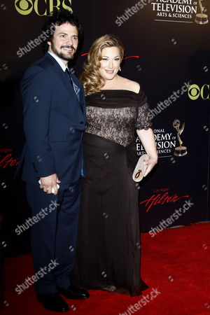 Us Actress Carnie Wilson and Her Husband Rob Bonfiglio Arrive at the 37th Annual Daytime Entertainment Emmy Awards Held at the Las Vegas Hilton Hotel in Las Vegas Usa 27 June 2010 the Daytime Entertainment Emmy Awards Recognize Outstanding Achievement in All Fields of Daytime Television Production United States Las Vegas