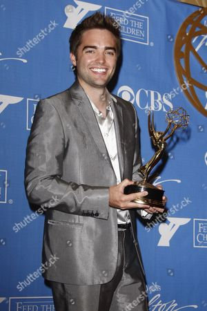 Us Actor Drew Tyler Bell (winner Outstanding Younger Actor in a Drama Series For His Acting in 'The Bold and the Beautiful') Poses in the Press Room at the 37th Annual Daytime Entertainment Emmy Awards Held at the Las Vegas Hilton Hotel in Las Vegas Usa 27 June 2010 the Daytime Entertainment Emmy Awards Recognize Outstanding Achievement in All Fieldsof Daytime Television Production United States Las Vegas