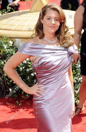 Us Actress Kirsten Lea Arrives at the 62nd Annual Primetime Emmy Awards Held at the Nokia Theatre in Los Angeles California Usa 29 August 2010 the Primetime Emmy Awards Honor Excellence in Us Primetime Television Programming United States Hollywood