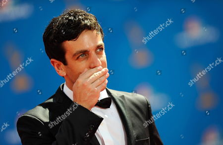 Us Actor B J Novak Arrives at the 62nd Annual Primetime Emmy Awards Held at the Nokia Theatre in Los Angeles California Usa 29 August 2010 the Primetime Emmy Awards Honor Excellence in Us Primetime Television Programming United States Los Angeles