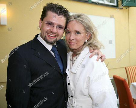 Stock Image of Julian Rachlin and Christina Tholstrup