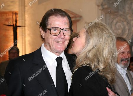 Roger Moore and wife Christina Tholstrup
