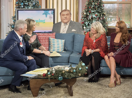 Editorial image of 'This Morning' TV show, London, UK - 21 Dec 2016