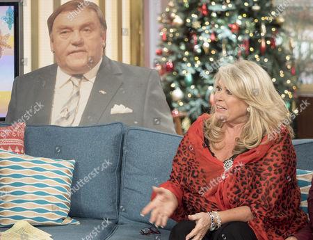 Tracy Dawson and Les Dawson cardboard cut-out