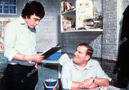 'Porridge'  Film - 1979 - Norman Stanley Fletcher (Ronnie Barker) and Lennie Godber (Richard Beckinsale) have a conversation in their prison cell