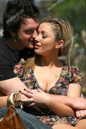 Stock Photo of Liam McGough and Natalie Pike