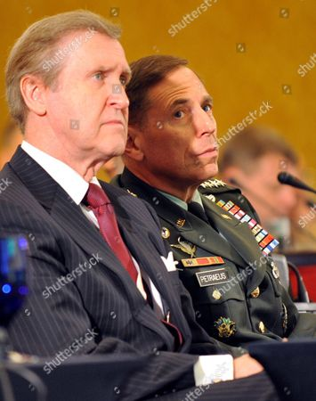 Former Us Secretary of Defense William Cohen (l) and Commander of the Us Central Command General David H Petraeus Attend the 6th Manama Dialogue Security Summit in Manama Bahrain 12 December 2009 Irans Iranian Foreign Minister Manouchehr Mottaki Currently in Bahrain at a Security Conference Criticized the World Powers' Plans of Renewed Sanction Against Iran and Said Such Measures Would Have the Reverse Effect 'The Use of Force Threats and Sanctions For Confronting Iran's Peaceful Nuclear Projects and Making Instrumental and Political Use of the Iaea Would not Only Have Reverse Effects But Also Undermine the Npt ' Mottaki was Quoted by Mehr News Agency As Saying Bahrain Manama