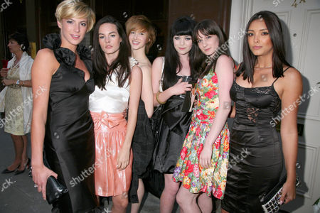 Editorial photo of Gliss Red Carpet Hair Exhibition at Richard Young Gallery, Holland St, London, Britain - 13 May 2008