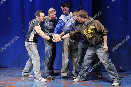 Stephane Anelli (Jose Reize), Dean Chisnall (Ash Sherwood), Craige Els (Jake Turner), Tim Driesen (Adrian Banks) and Eaton James (Dirty Harry)