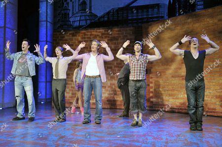 Craige Els (Jake Turner), Tim Driesen (Adrian Banks), Dean Chisnall (Ash Sherwood), Eaton James (Dirty Harry) and Stephane Anelli (Jose Reize)