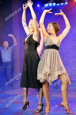 Stock Photo of Joanne Farrell (Annie Borrowman) and Sophia Ragavelas (Chloe Turner)