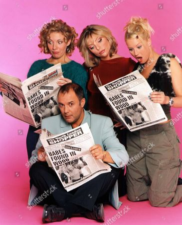 'Babes in the Wood' TV 1998 -  Natalie Walker, Samantha Janus, Denise Van Outen and Karl Howman,