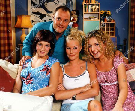 'Babes in the Wood'  TV - 1999 - Madeleine Curtis, Denise Van Outen, Natalie Walker, and Karl Howman.