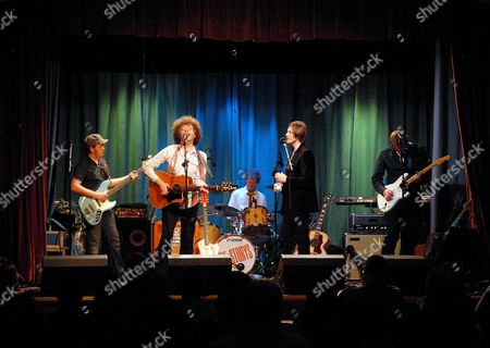 Stock Image of The Storys - Andy Collins, Rob Thompson, Steve Balsamo and Dai Smith