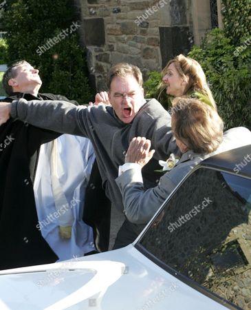'Emmerdale'   TV Billy Hartman attacks Kenneth Farrington