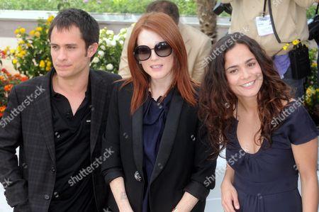 Julienne Moore, Alice Braga  and Gael Garcia Bernal