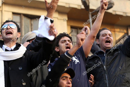 Egyptian Wael Ghonim (c) a Google Inc Marketing Manager For Northern Africa and the Middle East Addresses a Crowd on Tahrir Square in Cairo Egypt As Thousands of Protestors Continued Their Anti-government Demonstrations on 08 February 2011 Ghorim who was Released From Police Custody on 08 February After Being Arrested on 28 January is Regarded As a Leading Force Behind the Internet Campaigns That Helped the Anti-mubarak Movement Gain Momentum Egypt Cairo