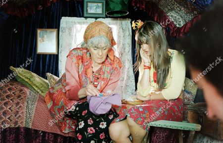 'Gypsy Girl'   TV Gemma Gregory (right) with Eleanor Bron