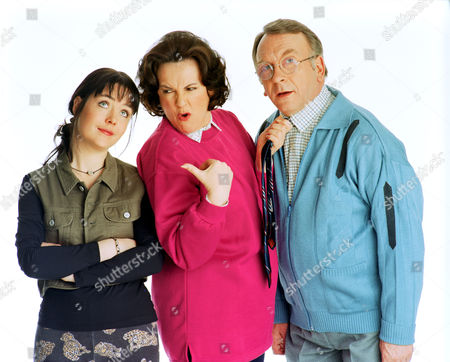 'Barbara'   TV Sam Kelly with Caroline Milmoe (left) and Gwen Taylor