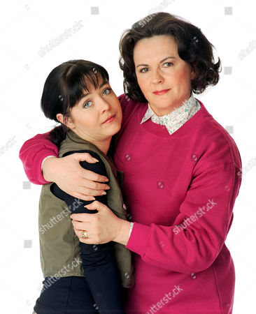Stock Photo of 'Barbara'   TV Caroline Milmoe (left) and Gwen Taylor