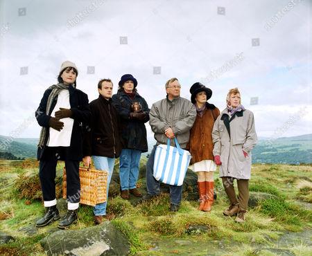 'Barbara'   TV L-R.Elizabeth Carling, Benedict Sandiford Gwen Taylor, Sam Kelly, Sherrie Hewson and Madge Hindle