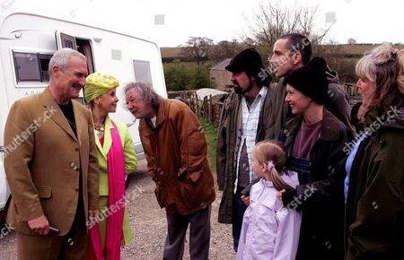 'Emmerdale'   TV Huw David Thomas and Georgina Hale meet the Dingles.
