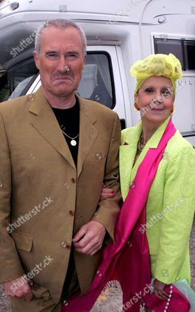 Stock Photo of 'Emmerdale'   TV Huw David Thomas and Georgina Hale