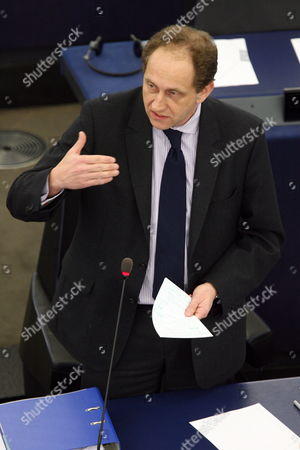 Vice-chairman German Alexander Graf Lambsdorff of the Alliance of Liberals and Democrats For Europe Addresses the European Parliament During a Debate on the Progress Made by Croatia Turkey and Former Yugoslav Republic of Macedonia Towards Eu Accession in Strasbourg France 10 February 2010 France Strasbourg
