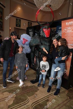 Ali Landry, Alejandro Gómez Monteverde and children Estela Ines Monteverde, Marcelo Monteverde (son of Ali Landry), Valentin Monteverde (son of Ali Landry)