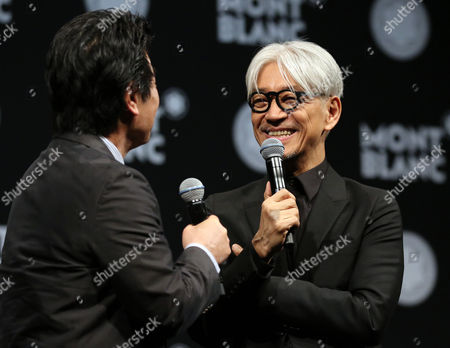 Editorial photo of Ryuichi Sakamoto receives Montblanc de la Culture Arts Patronage Award,  Tokyo, Japan - 21 Dec 2016