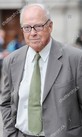 Dr Hans Blix Arriving at the Queen Elizabeth Hall For the Iraq Inquiry London on 27 July 2010 the Former Un Chief Weapons Inspector Will Be Quizzed For Three Hours This Afternoon on His Role at the Head of an Inspections Team Tasked with Searching For Saddam Hussein's Alleged Weapons of Mass Destruction United Kingdom London