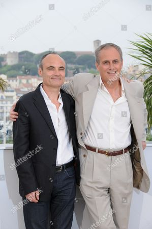 Philippe Val and Director Daniel Leconte