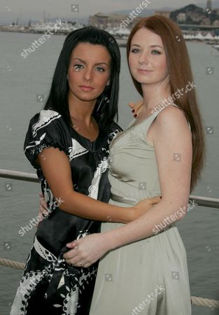 Elena Katina and Julia Volkova of Tatu