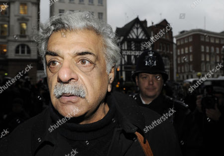 British Pakistani Novelist Tariq Ali Arrives at the Royal Courts of Justice in Support of the Founder of Wikileaks Julian Assange in London Great Britain 16 December 2010 Wikileaks Founder Julian Assange was Set Free After Nine Days in a London Prison But Faces a Fresh Legal Battle Over His Extradition to Sweden on Sex Allegations the High Court in London Granted Assange Bail Dismissing an Appeal Against Attempts by the Prosecuting Authorities to Stop Him Being Freed United Kingdom London