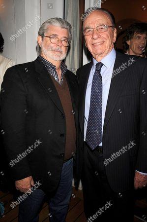 George Lucas and Rupert Murdoch