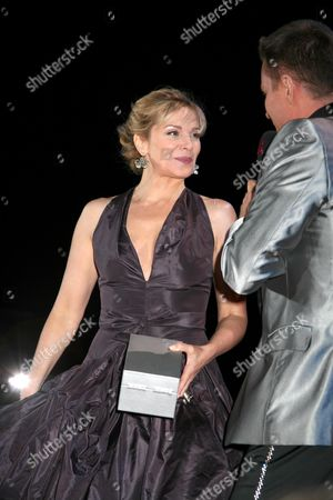 Kim Cattrall and Alfons Haider