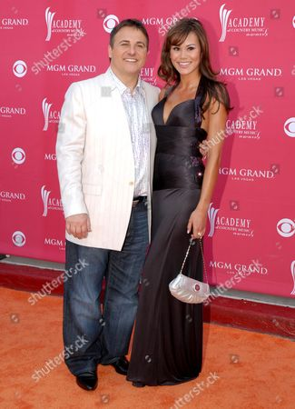 Stock Photo of Gavin Maloof and guest