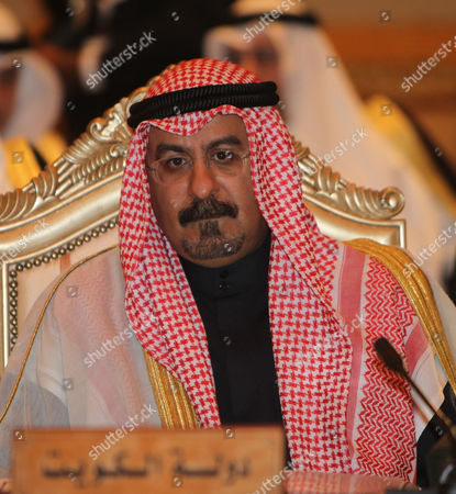 Kuwait's Foreign Minister Sheikh Mohammad Sabah Al-salem Al-sabah Attends the Meeting of 118th Gulf Cooperation Council (gcc) Ministrial Council at the Emirates Palace Hotel in Abu Dhabi United Arab Emirates on 07 March 2011 United Arab Emirates Abu Dhabi