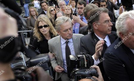 Editorial image of Usa Cameron Douglas Sentencing - Apr 2010
