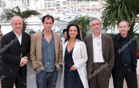Toni Servillo, Matteo Garrone, Maria Nazionale, Salvatore Cantalupo and Gianfelice Imparato