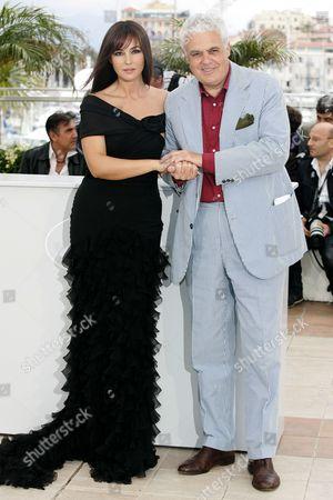 Monica Bellucci and Director Marco Tullio Giordana