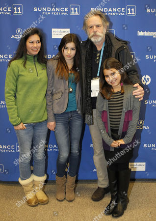 Bob Weir of the Grateful Dead and His Family Pose For a Picture Before the Premier of 'The Music Never Stopped' During the 2011 Sundance Film Festival in Park City Utah Usa 22 January 2011 the Movie by Director Jim Kohlberg is One of the Premier Movies at the Festival Running From 20 to 30 January United States Park City