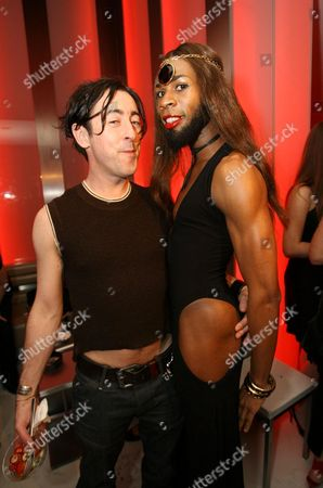 Alan Cumming and Andre J